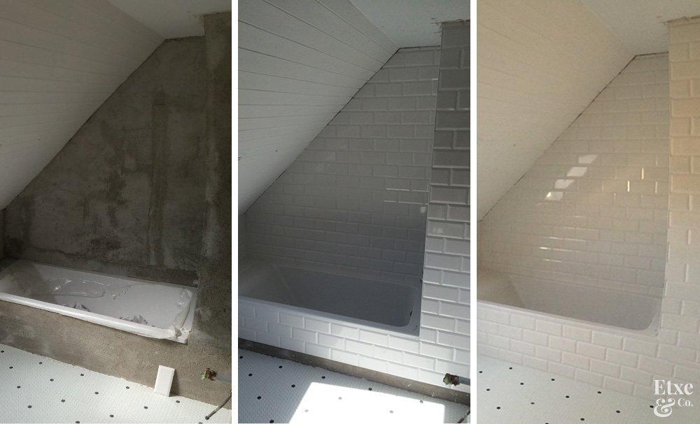 Reforma Baño Donosti:reforma baño techo abuhardillado en piso san sebastian