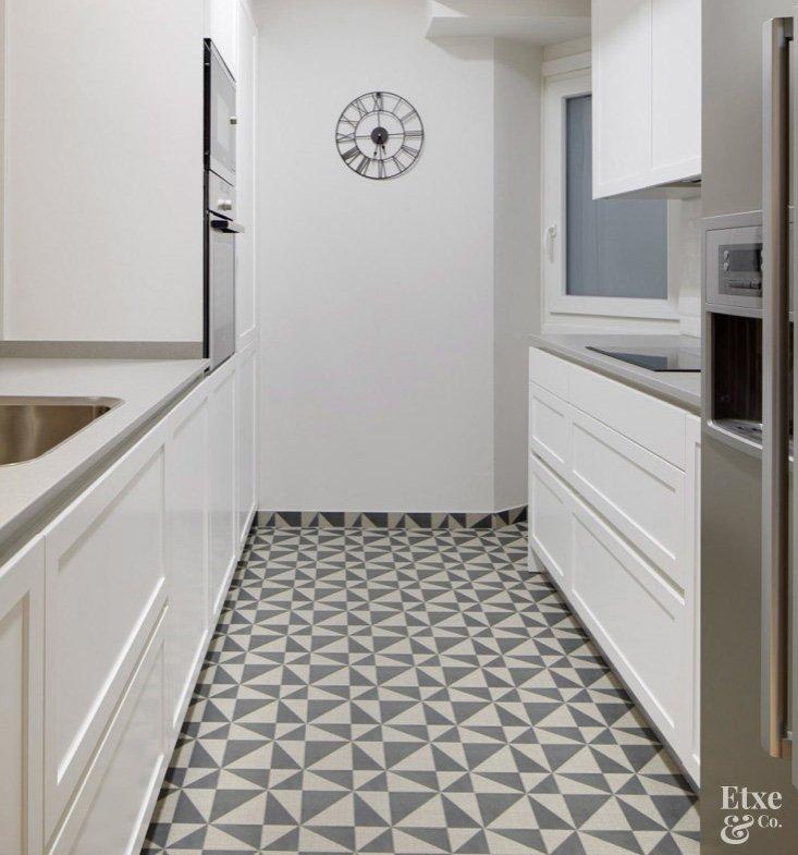 Azulejos suelo cocina azulejos para cocina en forma de - Azulejos suelo cocina ...