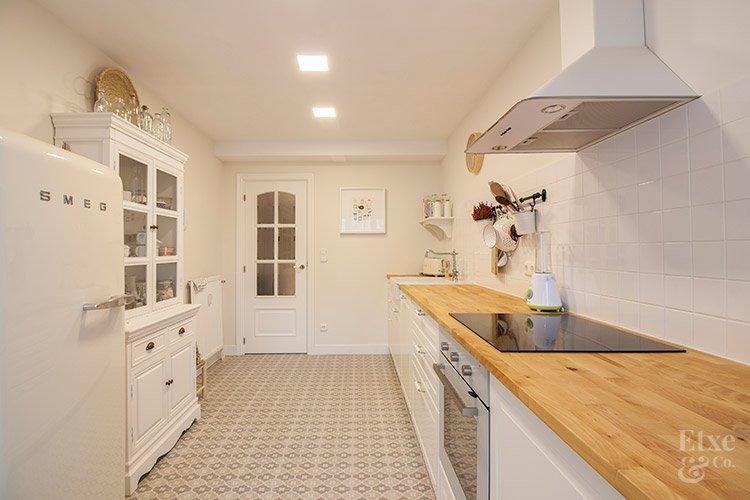 Reforma integral de la cocina de la vivienda de Bera Bera en San Sebastián